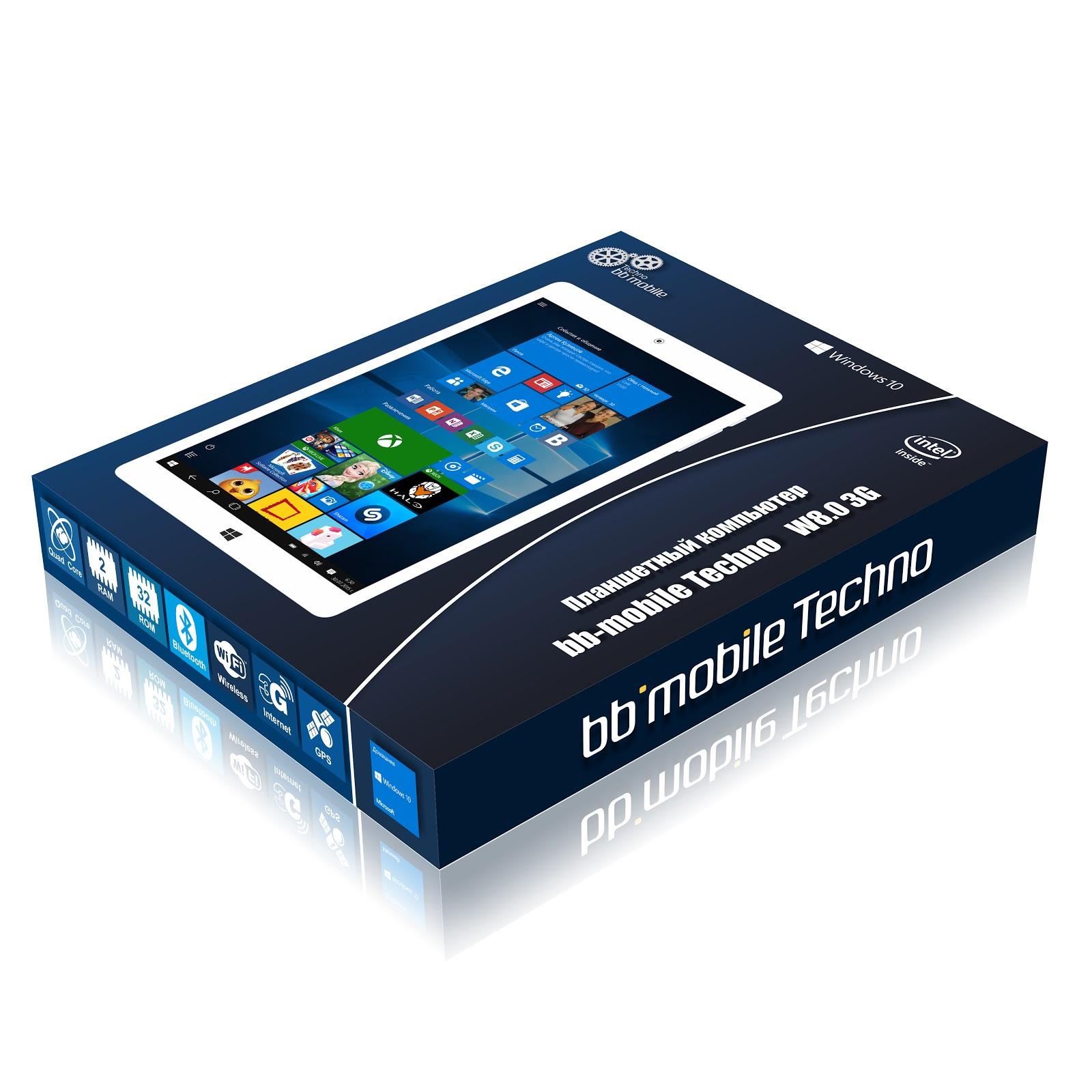 Обзор bb-mobile Techno W8.0 3G (Q800AY): бюджетный 8-дюймовый планшет на Windows 10 с 3G-модемом - 2