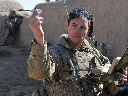 Армия США хочет принять на вооружение крошечные дроны к 2018 году