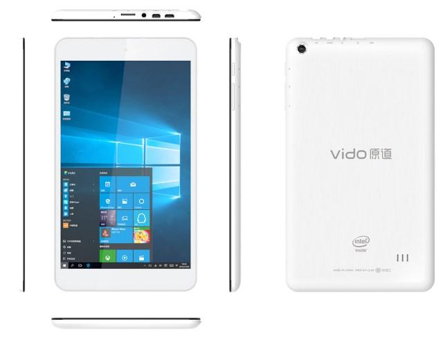Планшет Vido W8C с Windows 10 оценен в $76