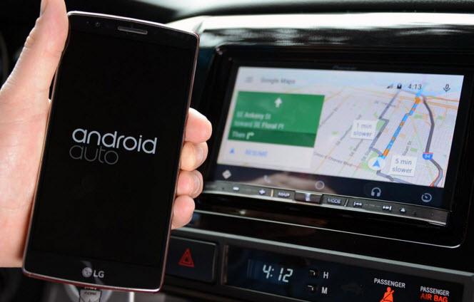 Android Auto запустили в России