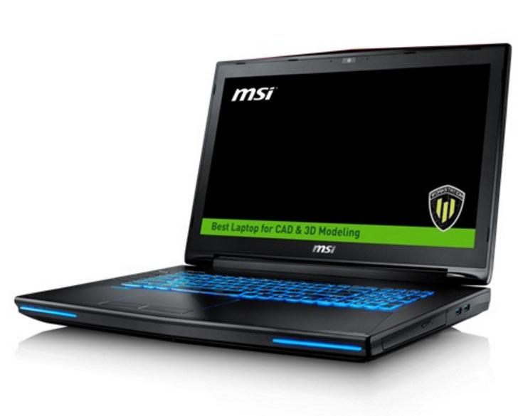 Цена MSI WT72 в максимальной конфигурации равна $6899