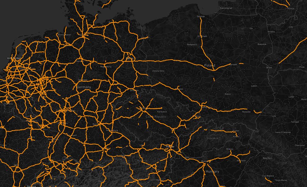 Дорожная сеть OpenStreetMap - 2