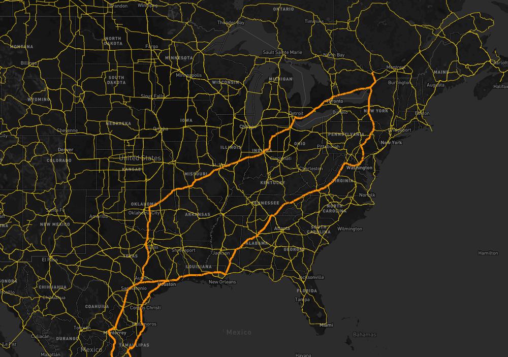 Дорожная сеть OpenStreetMap - 5