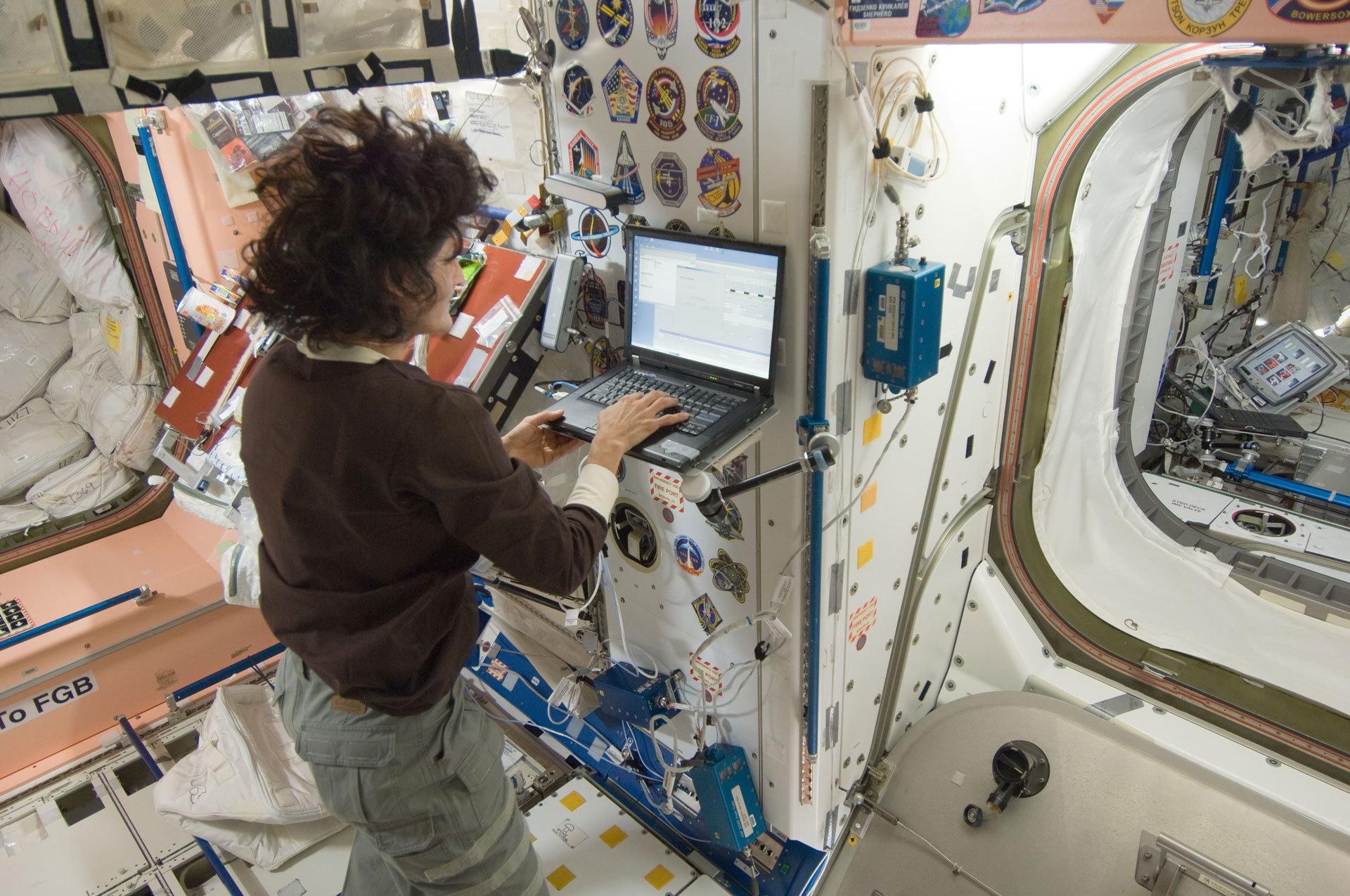 Интернет на МКС - 1