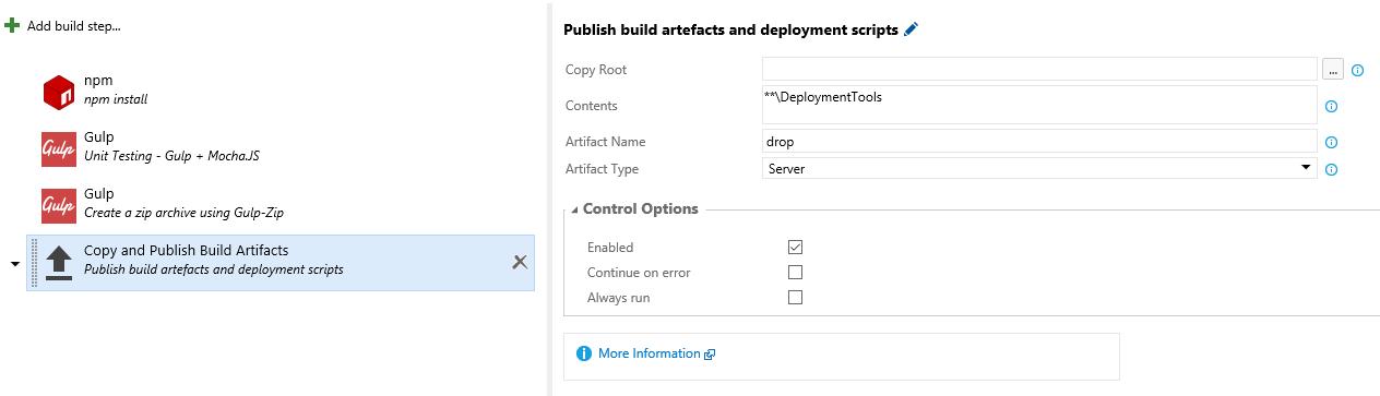 Как мы внедряли DevOps: непрерывная интеграция с GitHub и системой сборки Visual Studio Team Services - 7