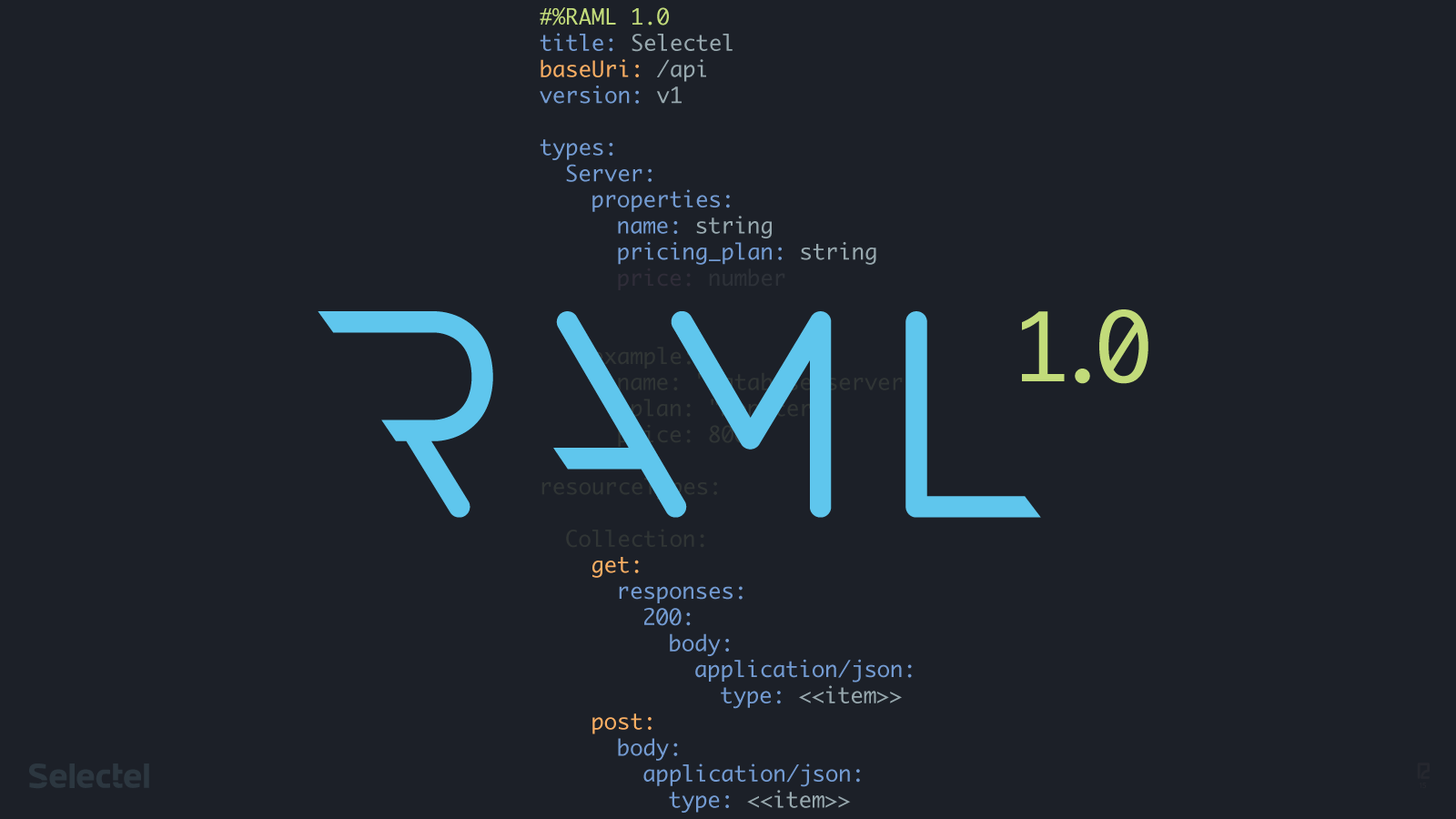 RAML 1.0