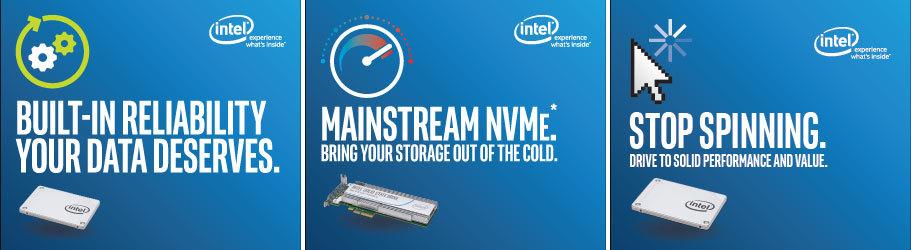 Первый SSD Intel с 3D NAND и множество новых серий SSD для серверов, «интернета вещей» и прочего - 1