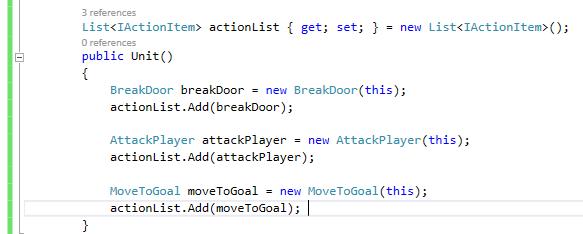 Списки действий: простой, гибкий, расширяемый ИИ - 9