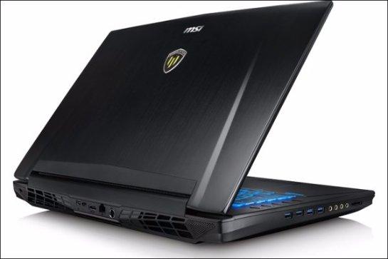 Представлен ноутбук MSI WT72 с видеокартой  NVIDIA Quadro M5500