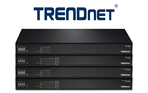 Представлена серия коммутаторов TrendNet High-Power PoE+ AV Series