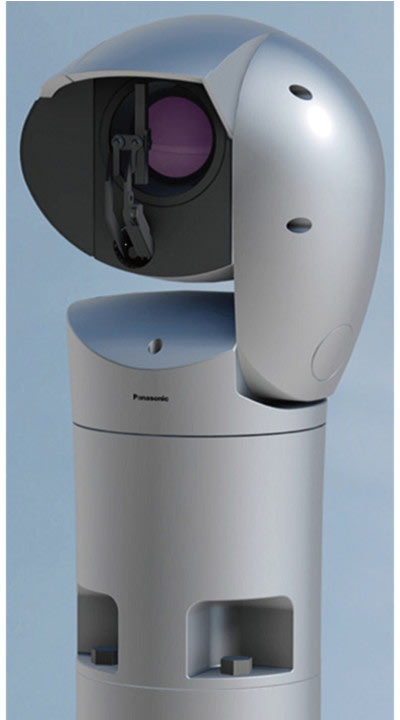Камера Panasonic Aero формирует изображение с разрешением 1080p и кадровой частотой 60 к/с
