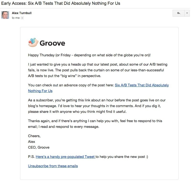 5 способов повысить эффективность ваших email-рассылок - 2