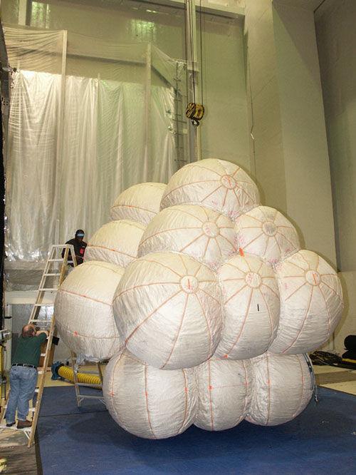 Надувной модуль МКС - 3