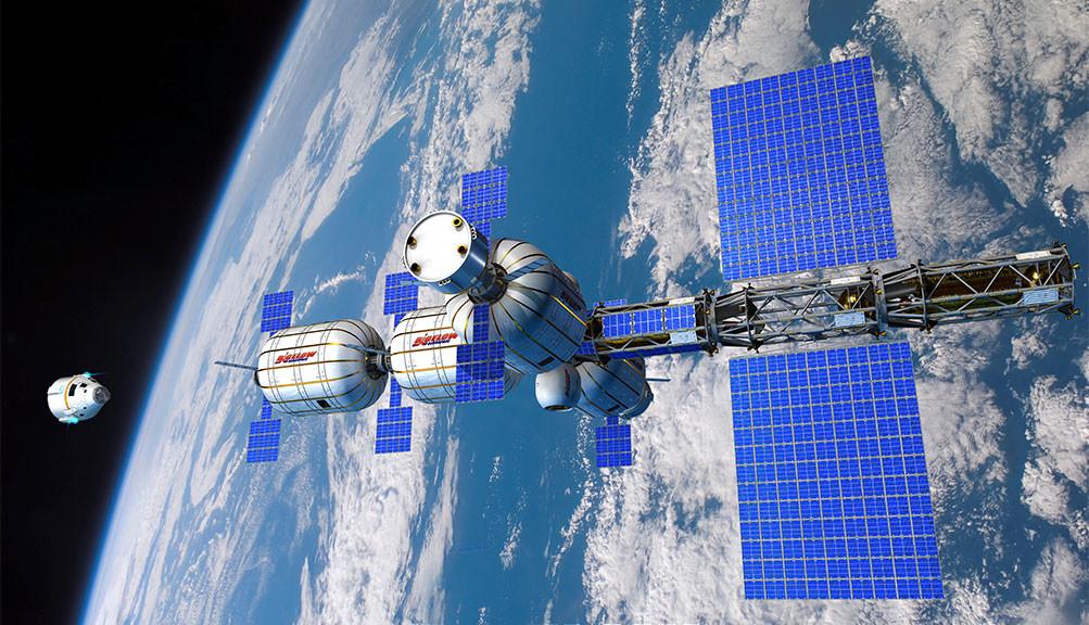Надувной модуль МКС - 8