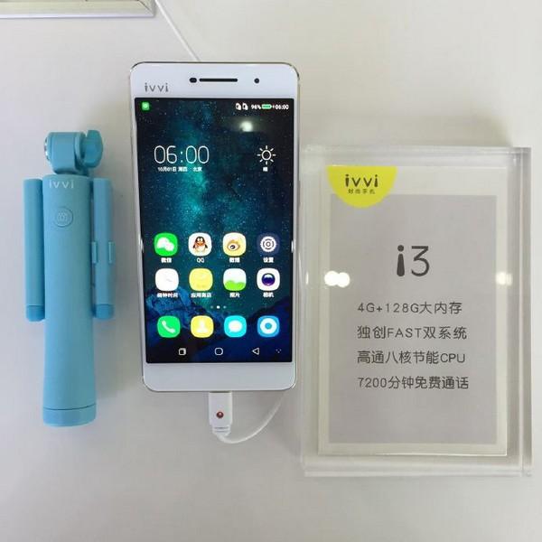 Смартфон Ivvi i3 получил ОС Android 6.0