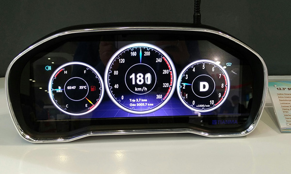 Tianma: экран для щитка приборов авто