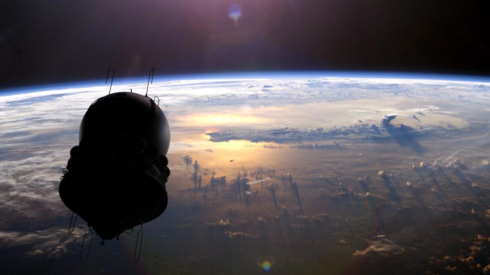 Космический корабль Восток-1 в 3D — рендерим в Blender - 14