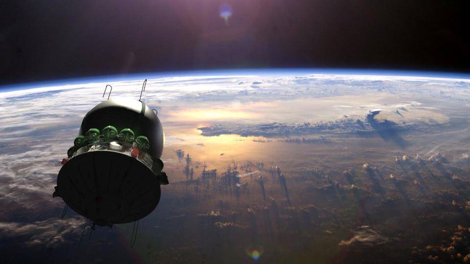 Космический корабль Восток-1 в 3D — рендерим в Blender - 1