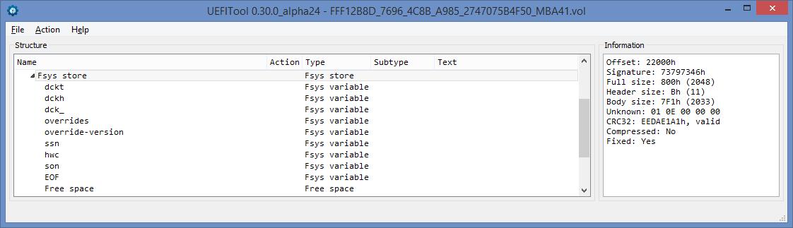 Устройство NVRAM в UEFI-совместимых прошивках, часть вторая - 3