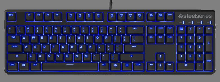 SteelSeries представила клавиатуру Apex M500