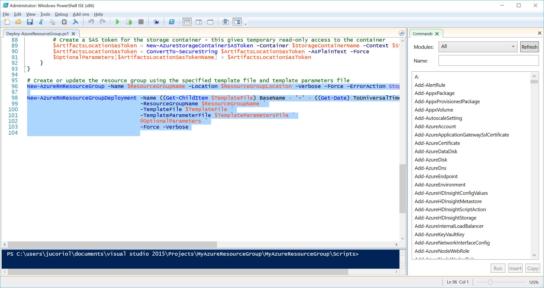 Как мы внедряли DevOps: инфраструктура-как-код с помощью Microsoft Azure и Azure Resource Manager - 12
