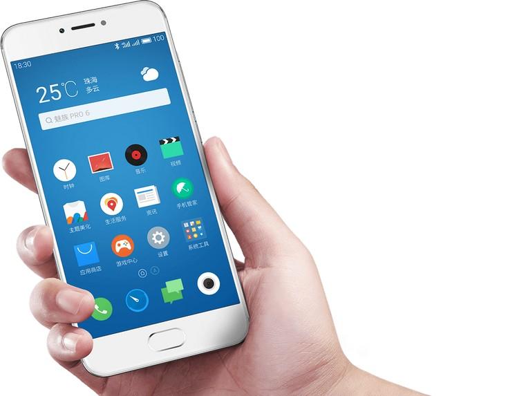 Смартфон Meizu Pro 6 получился значительно компактнее предшественника