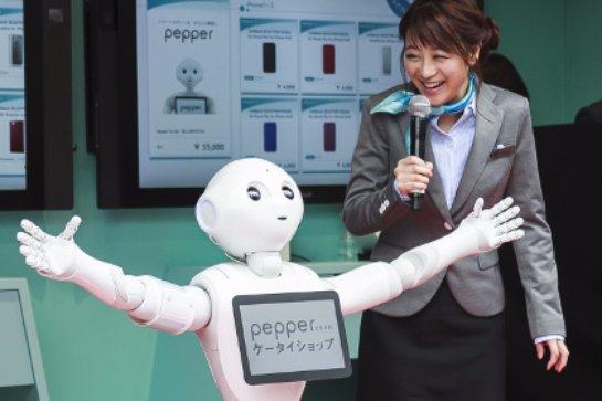 В Японии говорящий робот будет учиться вместе с детьми