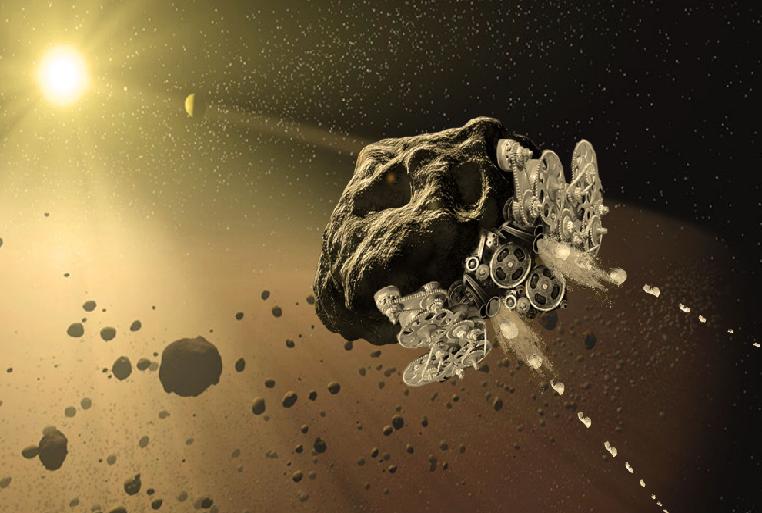 Астероид-машина, «двухмерный» корабль и ещё 11 сумасшедших идей НАСА - 1