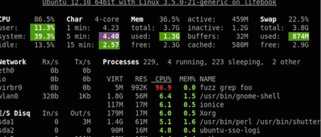 Более чем 80 средств мониторинга системы Linux - 17