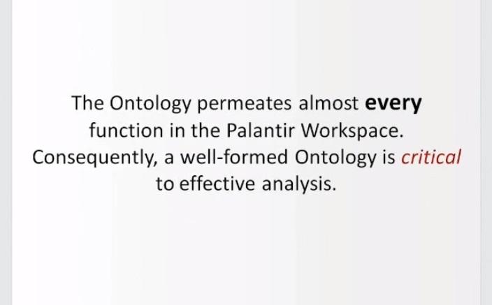 Динамическая онтология. Как инженеры Palantir объясняют это ЦРУ, АНБ и военным - 18