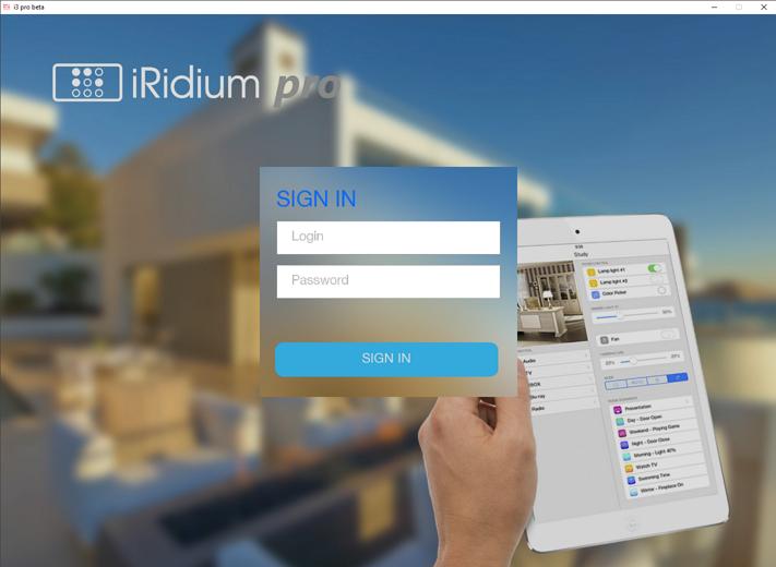 iRidium pro: новая платформа визуализации и автоматизации для Интернета вещей - 1