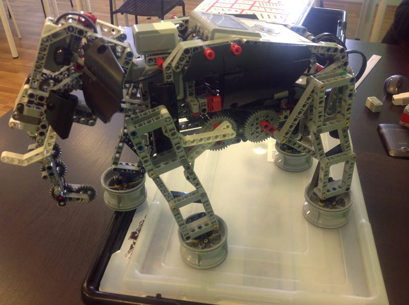 Детская робототехника в Крыму превозмогает - 16