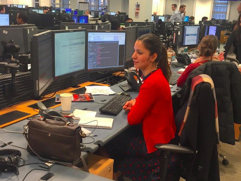 В каких условиях трудятся финансисты: Экскурсия по офисам Goldman Sachs и Bloomberg - 3