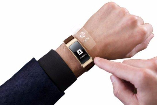 Huawei выпустила «умный» браслет