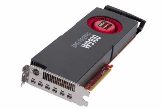 AMD FirePro W9100- видеокарта с 32 ГБ памяти