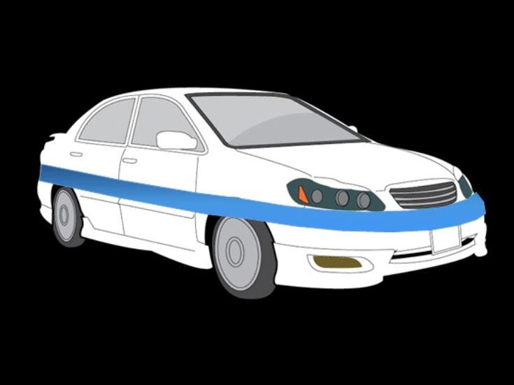 Гибкой камерой можно будет «обернуть» объект, например, автомобиль, обеспечивая круговой обзор