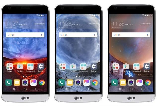 Владельцы смартфона LG G5 получили фирменные панорамные обои