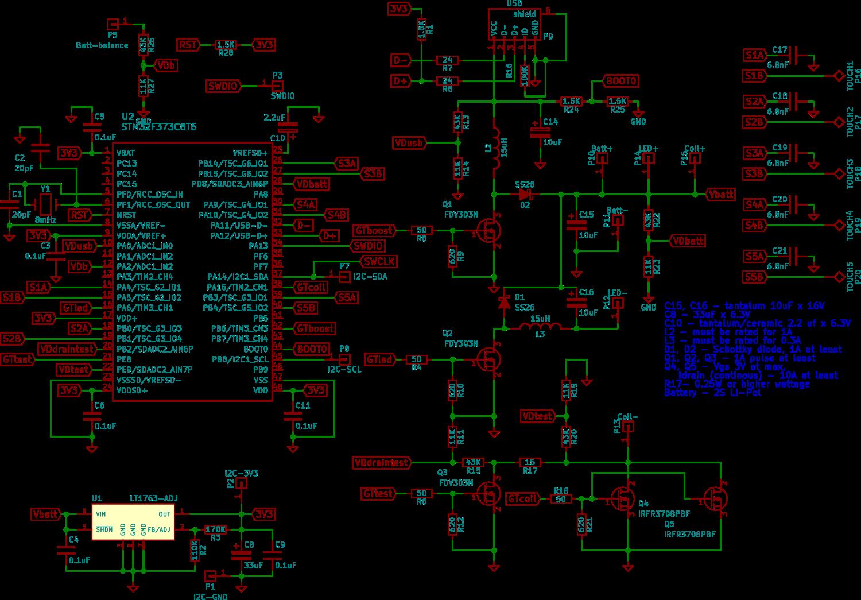Open-source open-hardware TC-«variwatt» мод для вейпинга на STM32 - 2