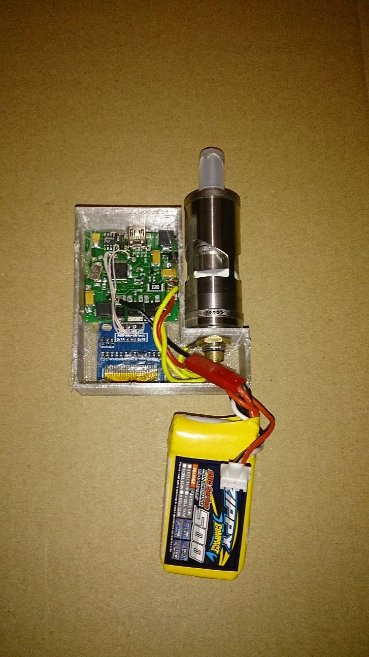 Open-source open-hardware TC-«variwatt» мод для вейпинга на STM32 - 4