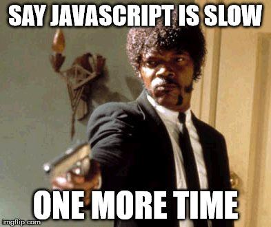 Почему JavaScript работает быстрее, чем С++? - 1