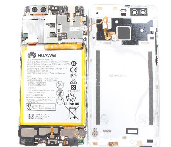 В смартфоне Huawei P9 используется темопаста