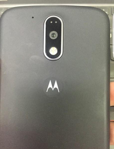 Смартфон Moto G4 получит кнопку под экраном