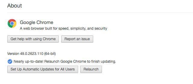 В Chrome 50 прекращена поддержка Windows XP, Vista и старых версий OS X - 1