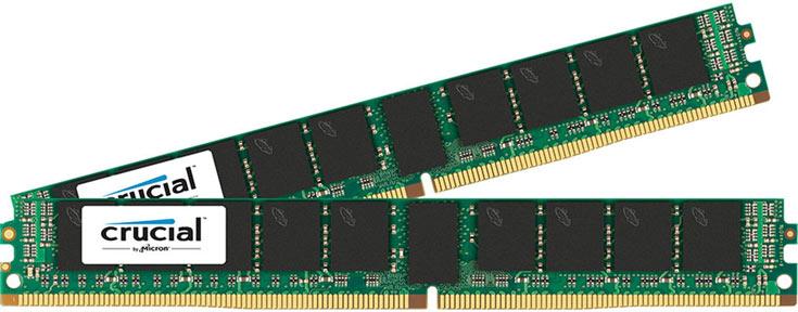 Новые модули памяти DDR4 Crucial предназначены для серверов