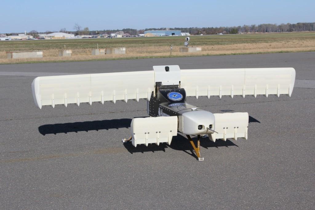 DARPA испытало беспилотник с 24 импеллерами и вертикальным взлетом - 1