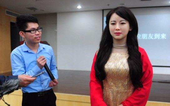 Jia Jia- говорящий человекоподобный робот
