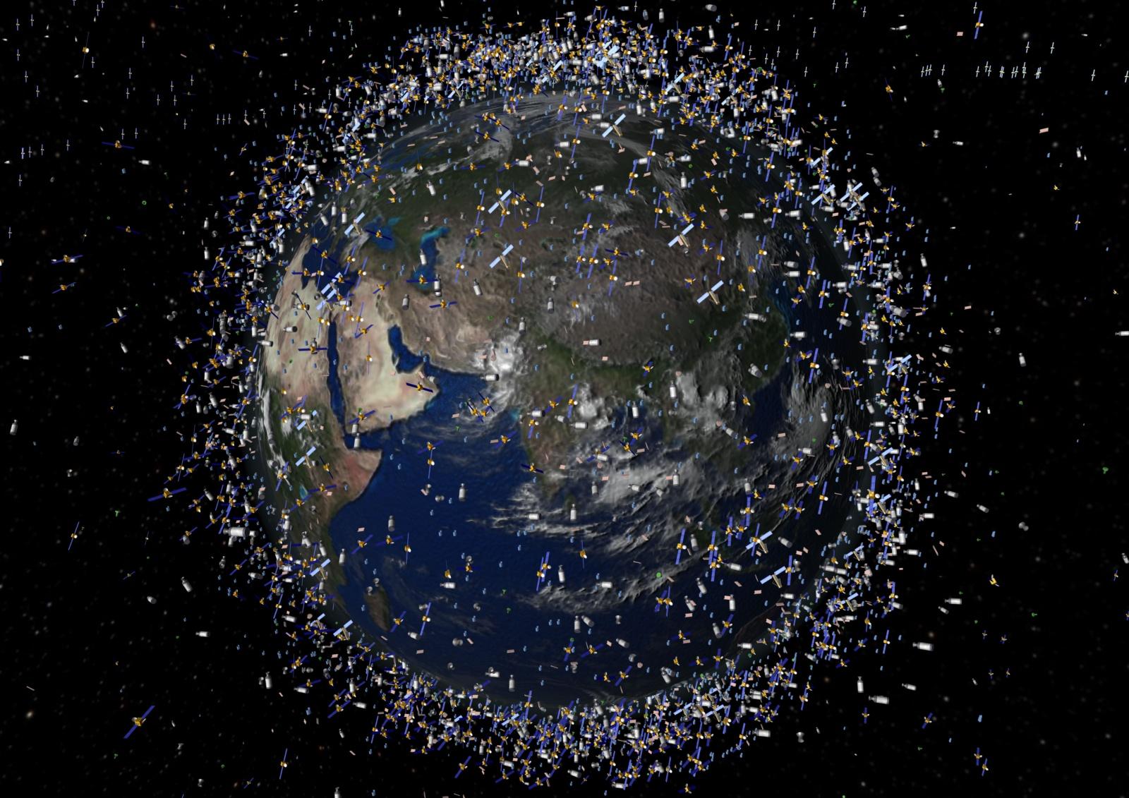 NASA: 30% космического мусора на орбите — следствие всего 10 «ДТП» - 1