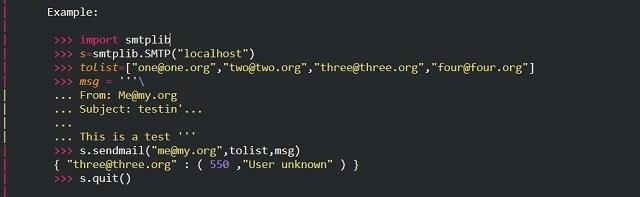 Как отправить электронное письмо с помощью Python: руководство для «чайников» - 3