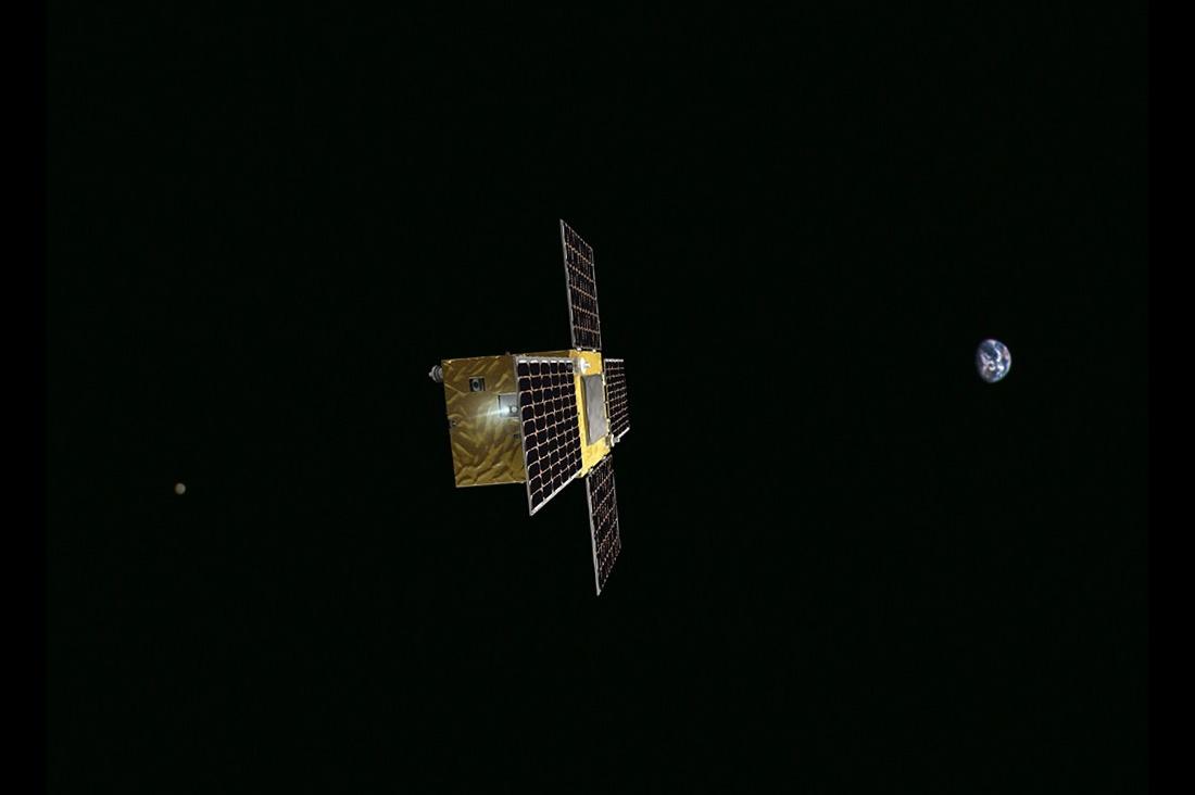 Микроспутник для большого космоса - 1