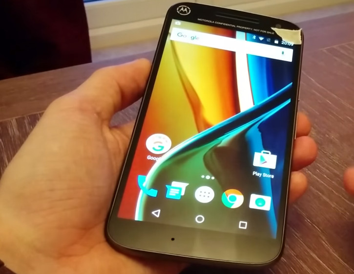 Одна из модификаций смартфона Moto G не получит физическую кнопку под дисплеем